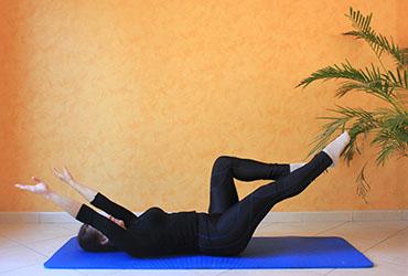 Double-leg stretch