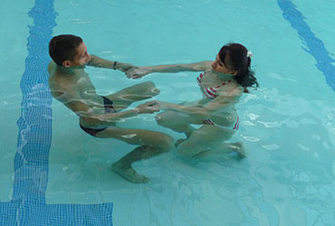 Activités Aquatiques - Aquaphobie - Se familiariser avec l'élément aquatique